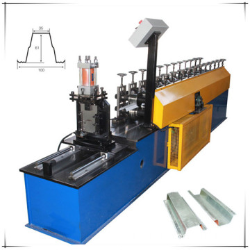Metal omega channel forming machine